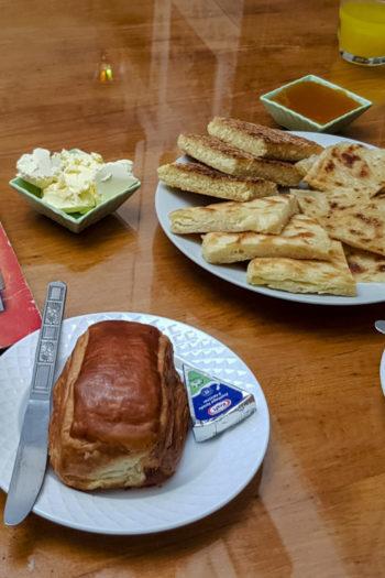 Typowe śniadanie w Maroku