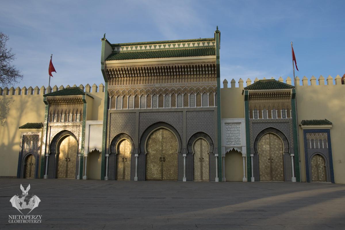 Brama Pałacu Królewskiego Dar El Makhzen.